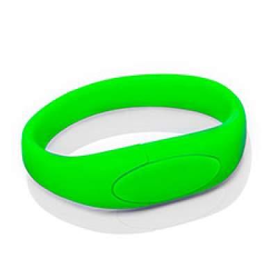 Флешка S002 (зеленый) с чипом 4 гб