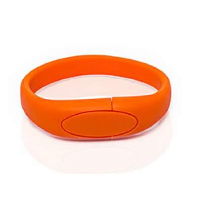 Флешка S002 (оранжевый) с чипом 4 гб