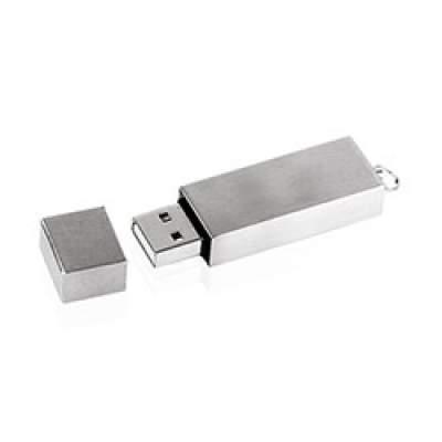 Флешка ME005 (серебро) с чипом 4 гб