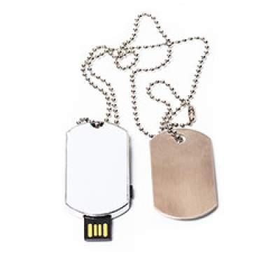 Флешка ME068 (серебро) с чипом 4 гб