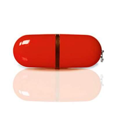 Флешка PL004 (красный) с чипом 4 гб