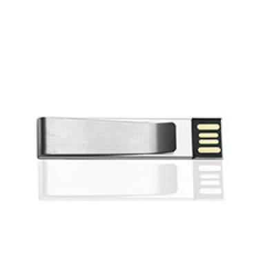 Флешка ME010 удл (серебро) с чипом 4 гб