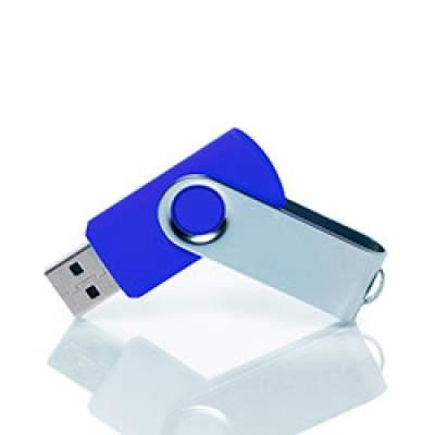 Флешка PM001 (синий) с чипом 4 гб