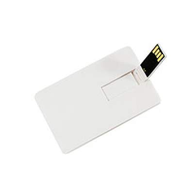 Флешка KR008 (белый) 4 гб