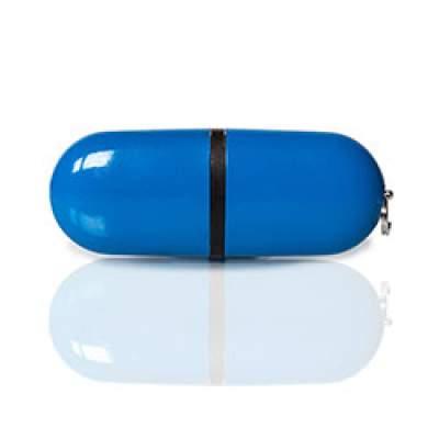 Флешка PL004 (синий) с чипом 4 гб