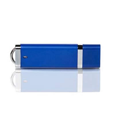 Флешка PL003 (синий) с чипом 4 гб