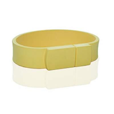 Флешка PVC002 (желтый 120 c) с чипом 4 гб