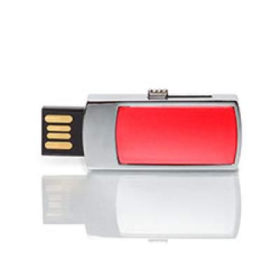 Флешка MN003 (красный) с чипом 4 гб