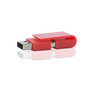 Флешка PL055 (красный) с чипом 8 гб