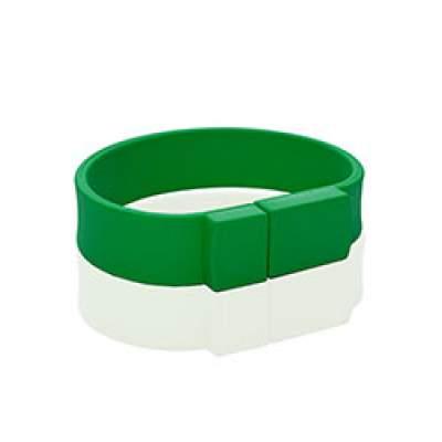 Флешка PVC002 (зеленый 7730 c) с чипом 4 гб