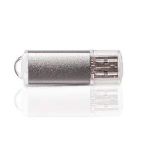 Флешка PM006 (серебро) с чипом 4 гб