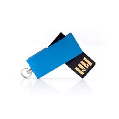 Флешка MN002 (синий) с чипом 4 гб