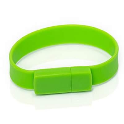 Флешка S001 (зеленый) с чипом 8 гб