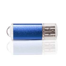 Флешка PM006 (синий) с чипом 8 гб