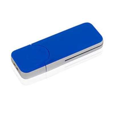 Флешка PL005 (синий) с чипом 4 гб