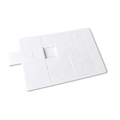 Флешка Пятнашки KR011 (белый) 16 гб