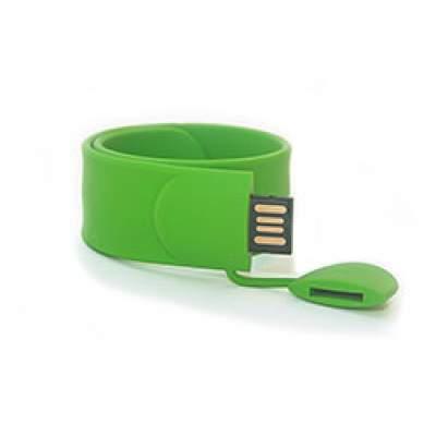 Флешка S012 (зеленый) с чипом 4 гб