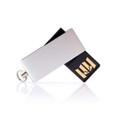 Флешка MN002 (серебро) с чипом 4 гб