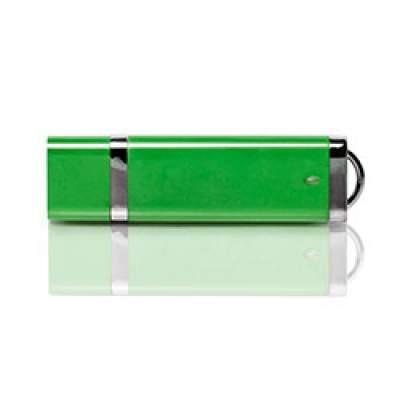 Флешка PL003 (зеленый) с чипом 4 гб