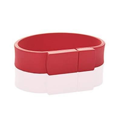 Флешка PVC002 (красный 186 c) с чипом 4 гб