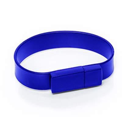 Флешка S001 (синий) с чипом 8 гб