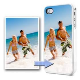 Чехол 2D iPhone 4/4s с фотографией