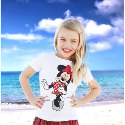 Детская футболка с печатью изображения