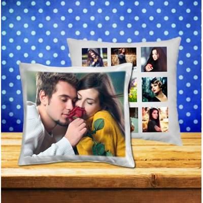 Подушка с печатью фотографий с двух сторон