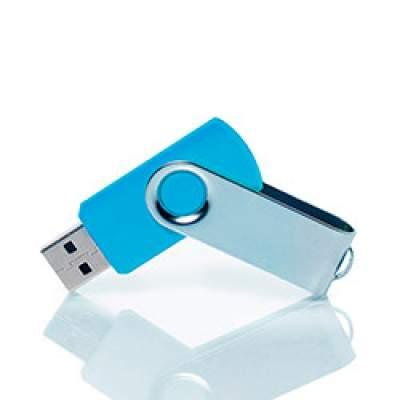 Флешка PM001 (голубой) с чипом 8 гб