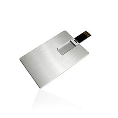 Флешка KR015 (серебро) с чипом 4 гб